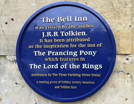visited by J.R.R Tolkien